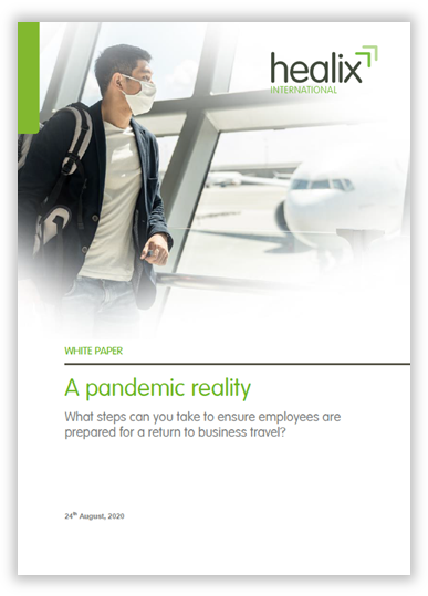 Preparing your employees for return to travel whitepaper