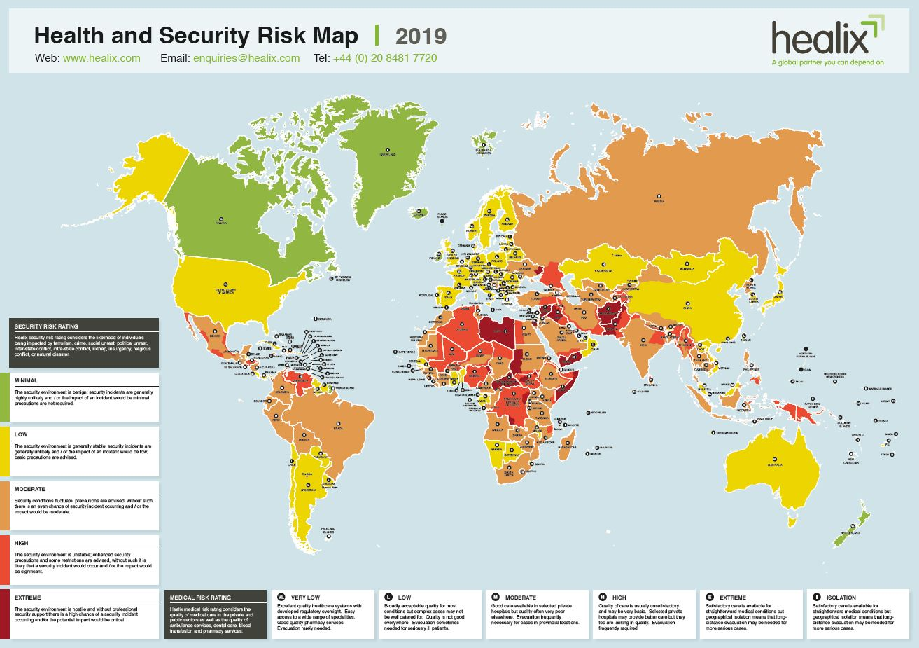 Risk Map 2019